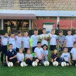 Vredna donacija školi fudbala pirotskog Radničkog od bivšeg fudbalera Radničkog Marka Stanojevića