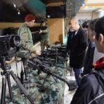 Prezentacija opreme Vojske Srbije u holu Doma kulture