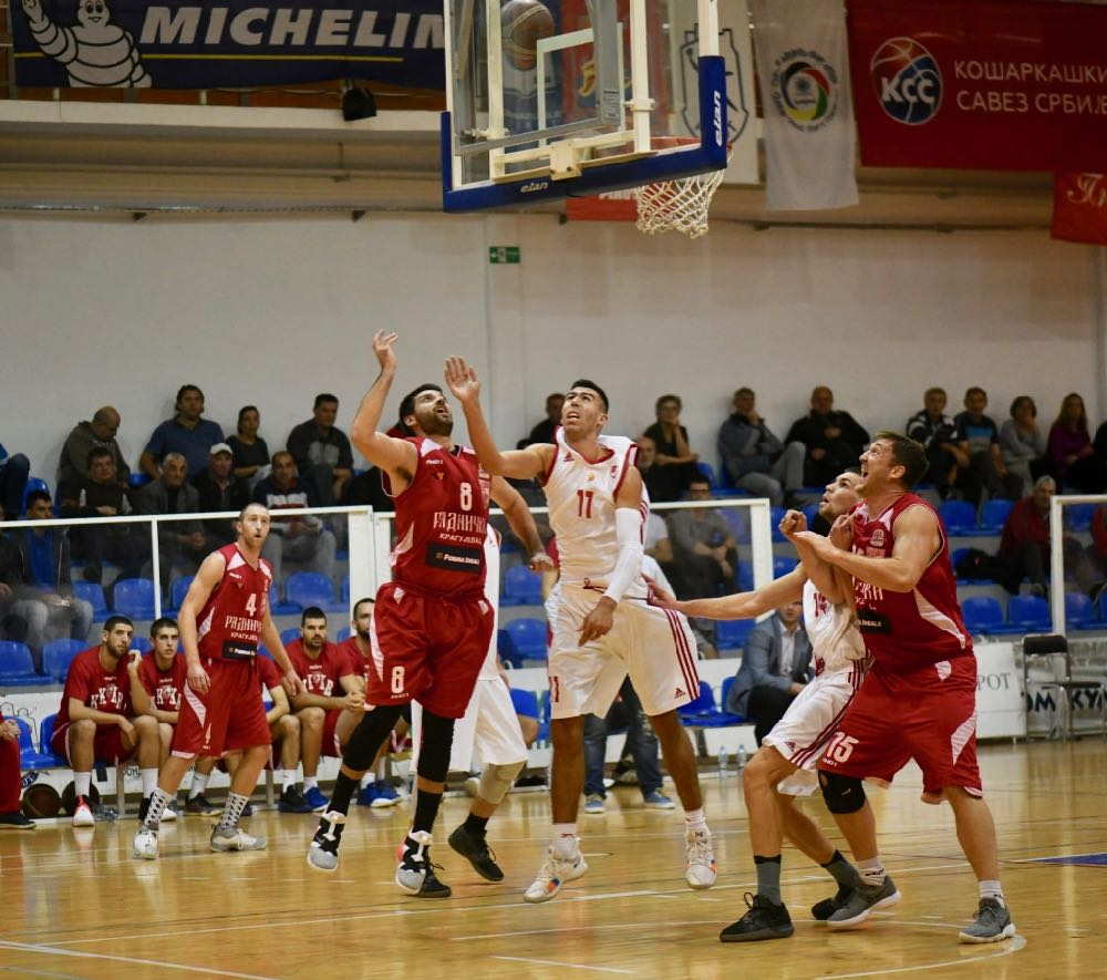 Photo of Košarkaši nastavili da dominiraju, savladala ekipa Radničkog iz Kragujevca 97:82