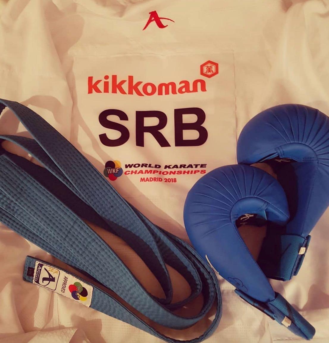 Photo of Uroš na svetskom karate događaju godine – Svetskom karate šampionatu u Madridu