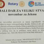 HUMANOST: Rotarakt klub Pirot pokrenuo akciju pomoći našoj oboleloj sugrađanki