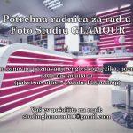 POSAO: Foto studiu Glamour potrebna radnica