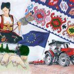 Na likovnom konkursu za EUPRO učenica Ekonomske škole među 12 najboljih u Srbiji