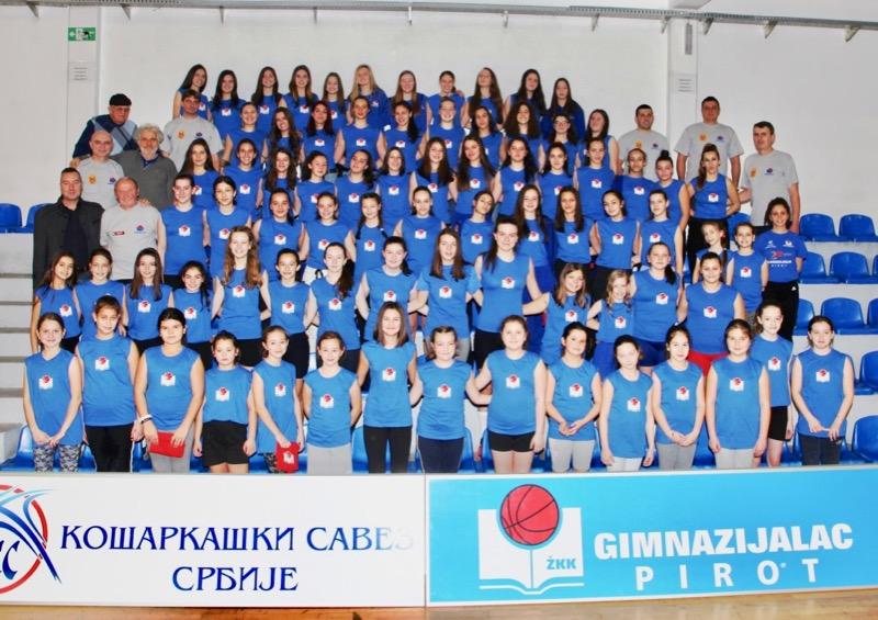 Photo of Festival ženske košarke povodom 21 godine postojanja ŽKK Pirot