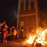 Paljenje badnjaka i u Tijabarskoj crkvi