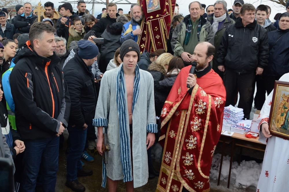 Photo of Otac Miljan Panić: Na Bogojavljanje se osvećuje voda kao spomen na krštenje Gospoda Isusa Hrista