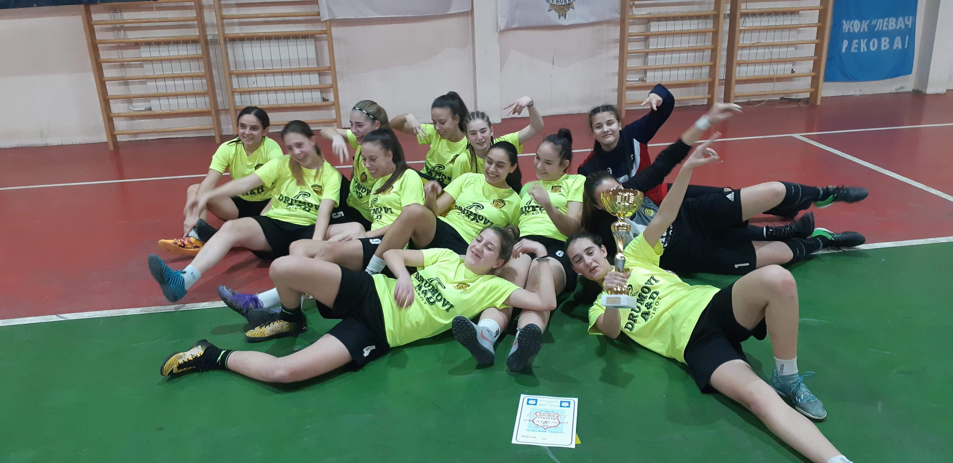 Photo of Fudbalerke Jedinstva osvojile turnir u Rekovcu