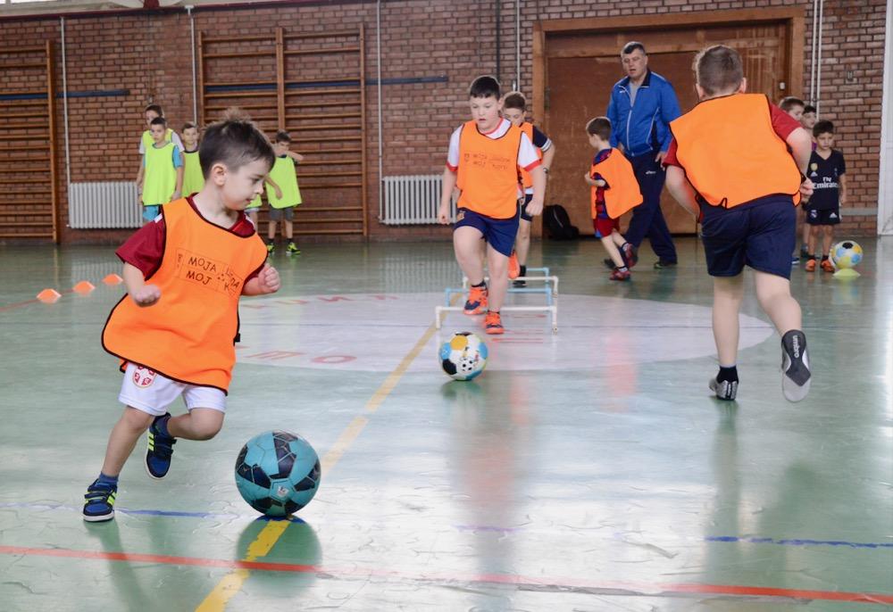Photo of Božićna škola sporta: Škola fudbala Gimnazijalac – rasadnik talenata