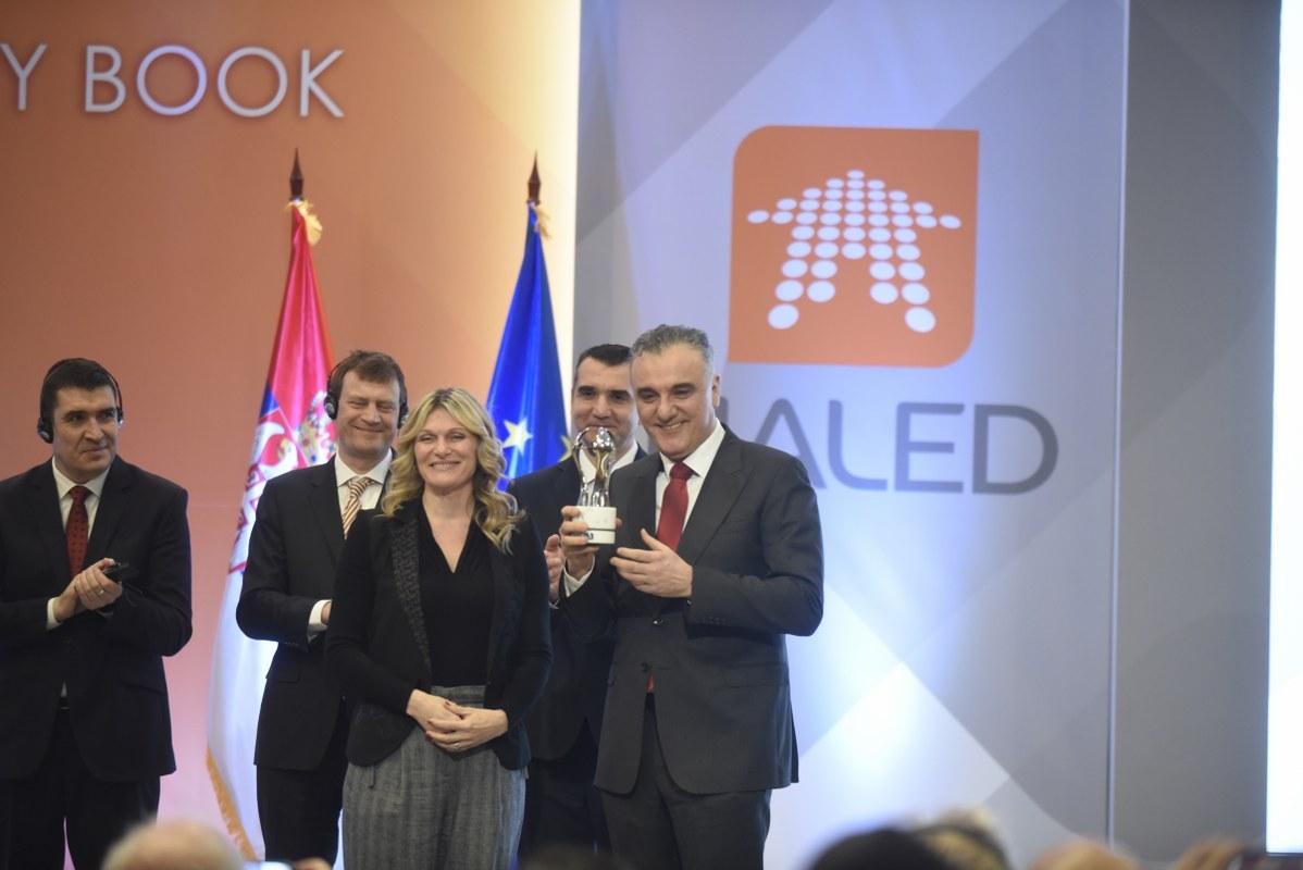 Photo of Nagrada Reformator godine direktoru katastra Borku Draškoviću