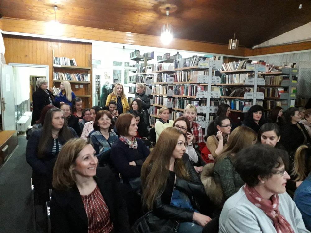 """Photo of """"Zdrava žena – zdrava porodica"""", predavanje Foruma žena SPS-a"""