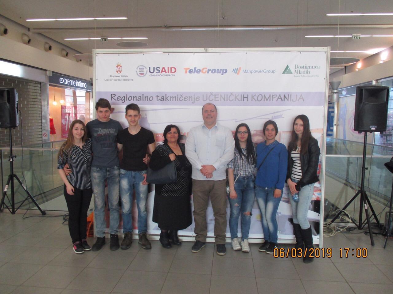 Photo of Učenici Mlekarske škole na regionalnom takmičenju učeničkih kompanija