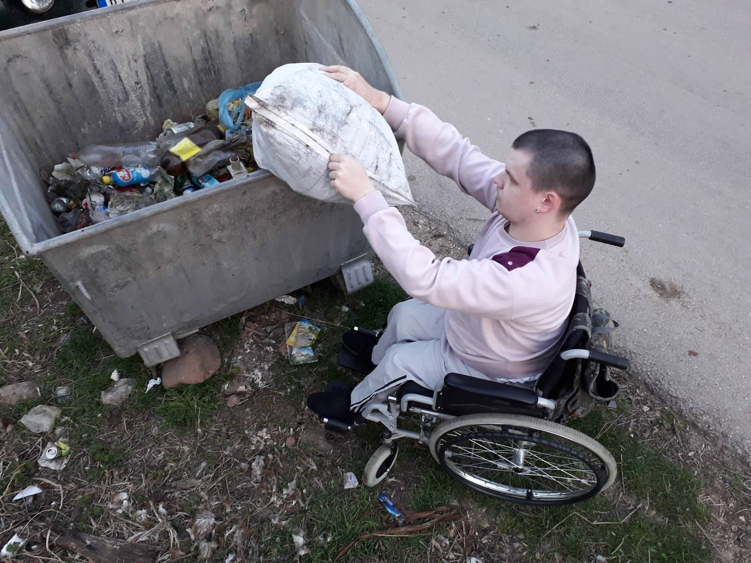 Photo of PRIMER ZA SVE: Mladi Temštani očistili tri kilometra puta od smeća