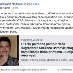 VELIKA AKCIJA SVIH MAMA PIROTA: Pomažu našoj sugrađanki Snežani Đorđević, majci dvoje mališana