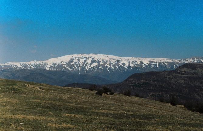 Photo of Kopni sneg na Miđžoru, najvećem srpskom vrhu
