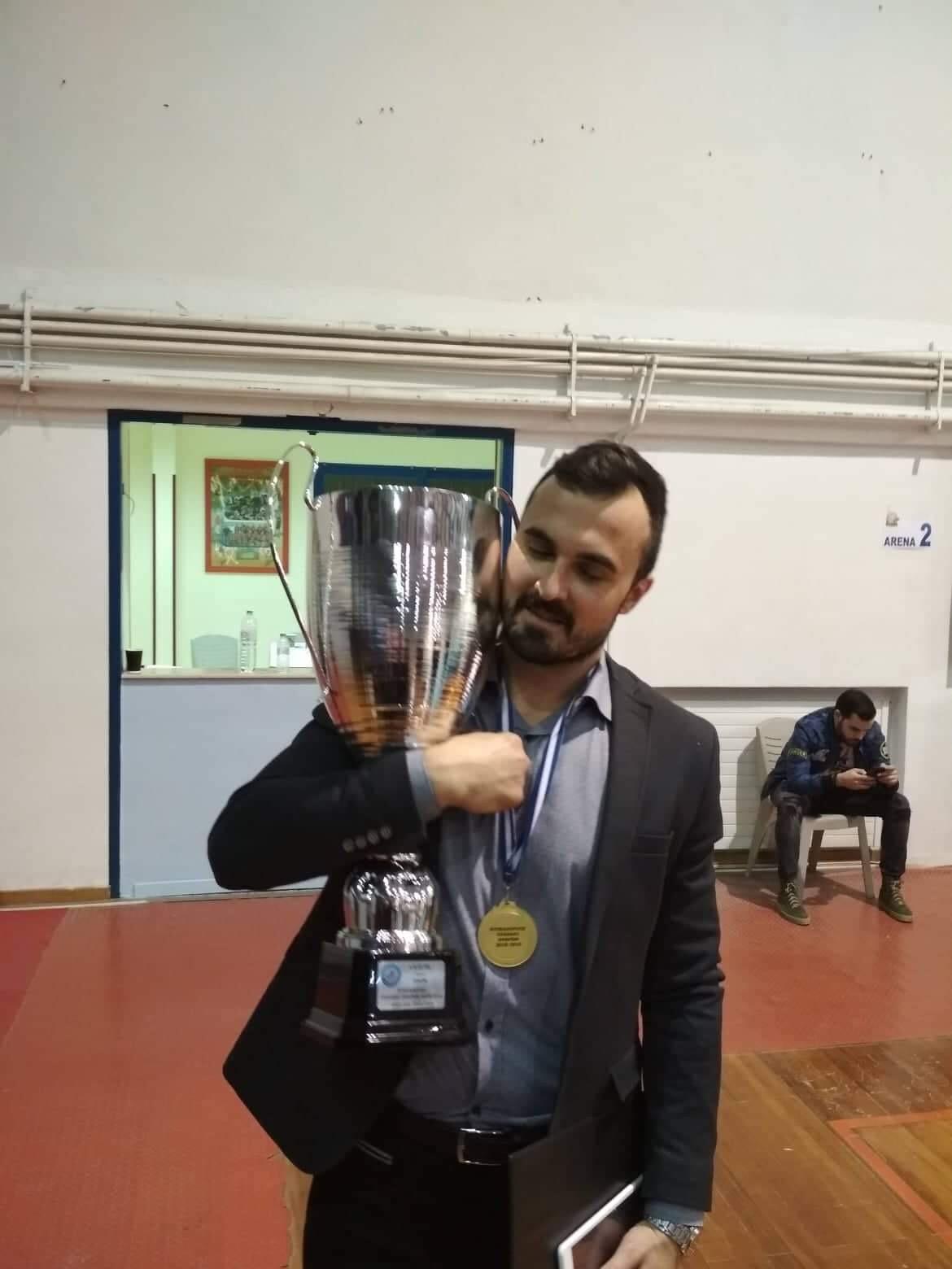 Photo of Piroćanac Čedomir Ilić osvojio Kup Grčke sa PAOKOM