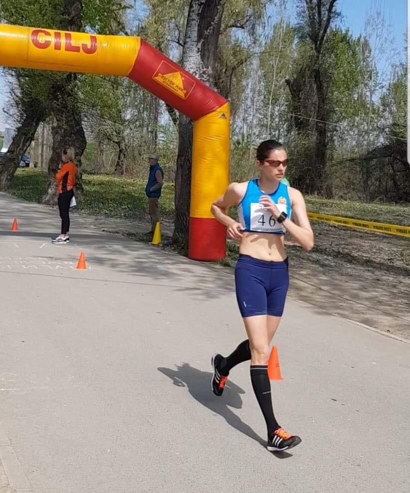 Photo of Danica Gogov odbranila titulu prvaka države u hodanju na pet kilometara