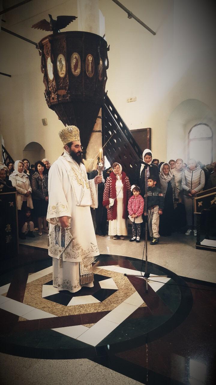 Photo of Vladika niški Arsenije služio liturgiju na Vaskršnji utorak u Tijabarskoj crkvi