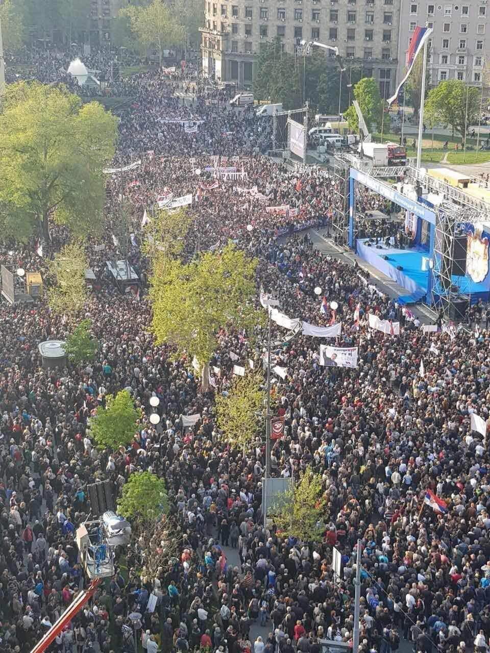 Photo of Jovanović: Preko 4000 ljudi iz Pirotskog okruga na mitingu podrške Aleksandru Vučiću u Beogradu