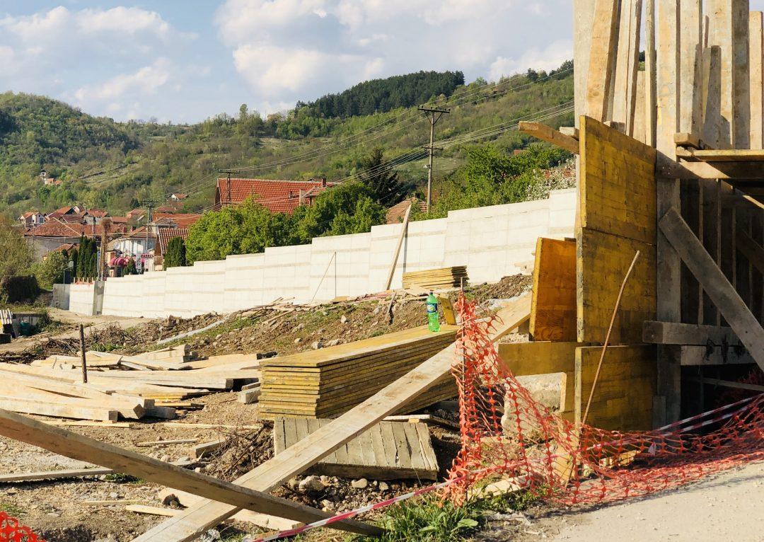 Photo of Završen potporni zid – Tip 1, u ulici Ruzmarina