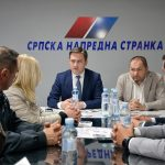 Nikola Selaković posetio odbor SNS-a u Pirotu