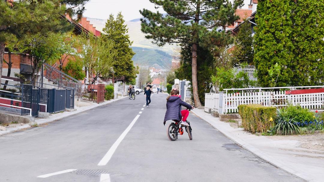 Photo of Još jedna rekonstruisana ulica u novom Tigrovom naselju