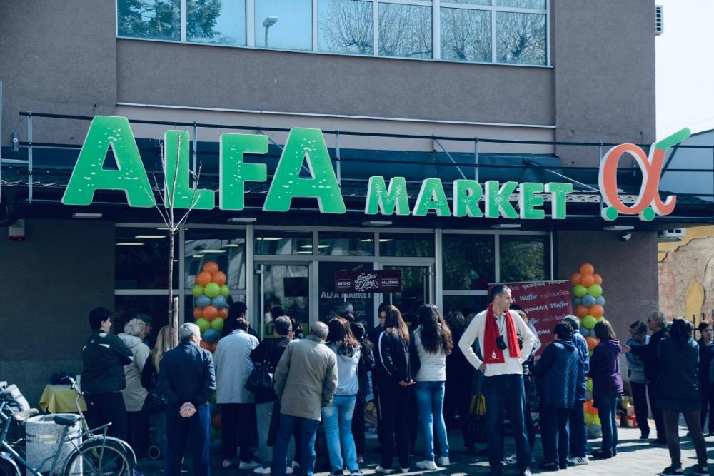 Photo of Otvoren treći po redu Alfa market preko puta Gimnazije. Više od 5.000 artikala na jednom mestu, brojne akcije i pogodnosti za kupce