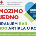 """""""Korpa solidarnosti""""  – humanitarna akcija kompanije Marmil za pomoć višečlanim porodicama u stanju socijalne potrebe"""
