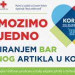 """""""Korpa solidarnosti""""  - humanitarna akcija kompanije Marmil za pomoć višečlanim porodicama u stanju socijalne potrebe"""