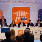 Vasić na 13. godišnjoj Skupštini NALED-a. Ostvareni kontakti sa brojnim ambasadama, kompanijama...
