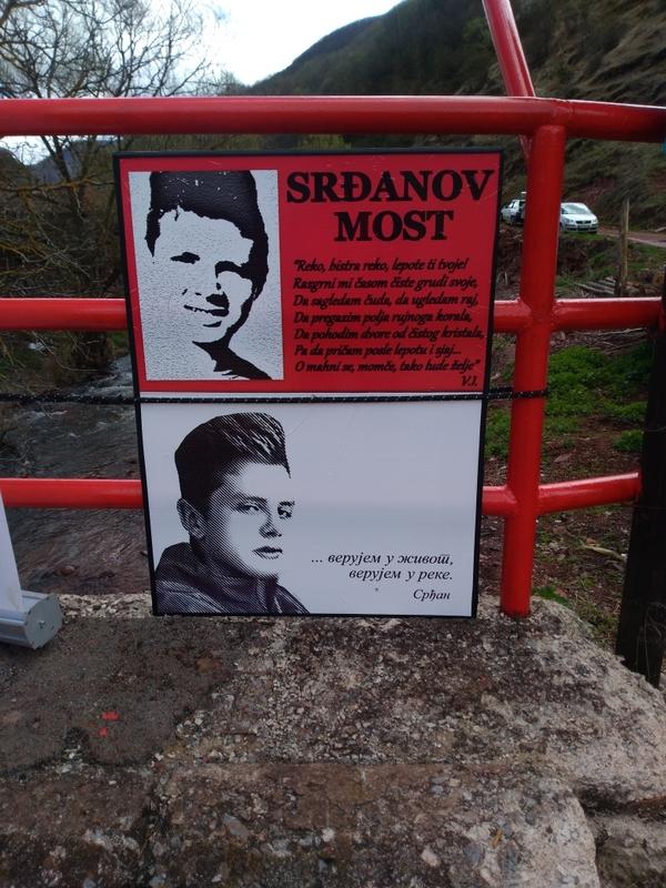 Photo of Most na Toplodolskoj reci dobio ime  po tragično stradalom Srđanu Đ.