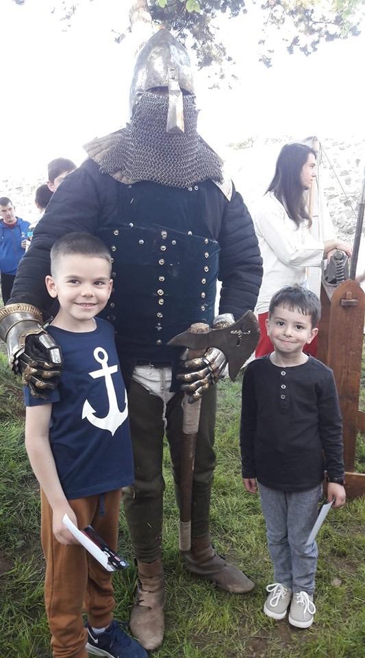 """Photo of """"Zmajeva griva"""" – viteška družina u srednjovekovnoj tvrdjavi u Pirotu"""