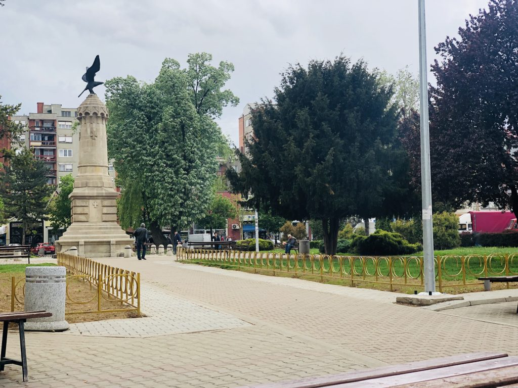Photo of Uredjen park i kod zelene pijace
