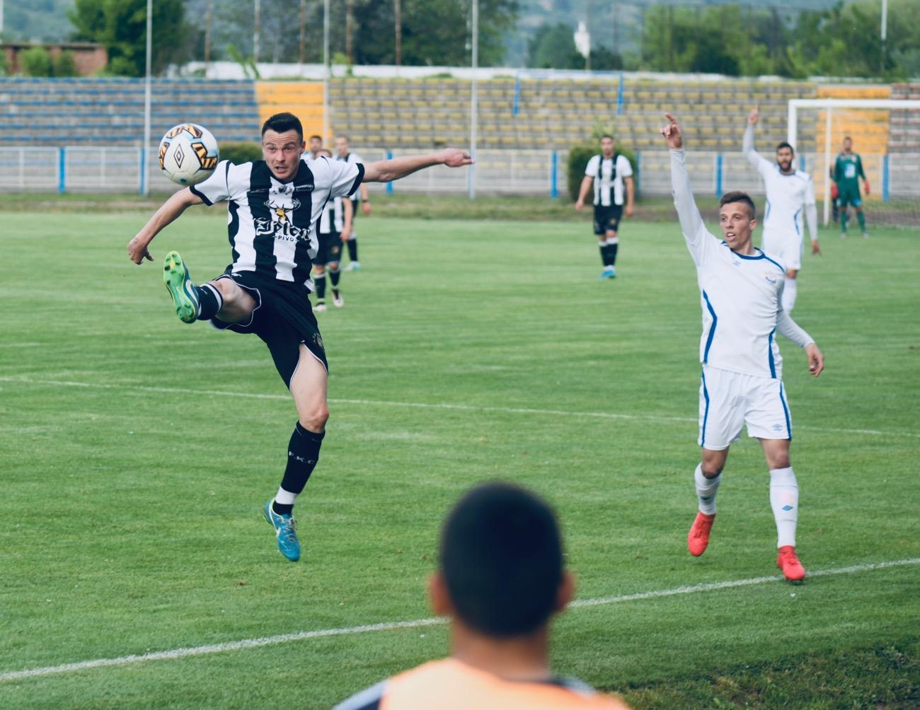 Photo of ŠTETA: Radnički poražen od ekipe Cara Konstantina 1:3, na poluvremenu 0:0