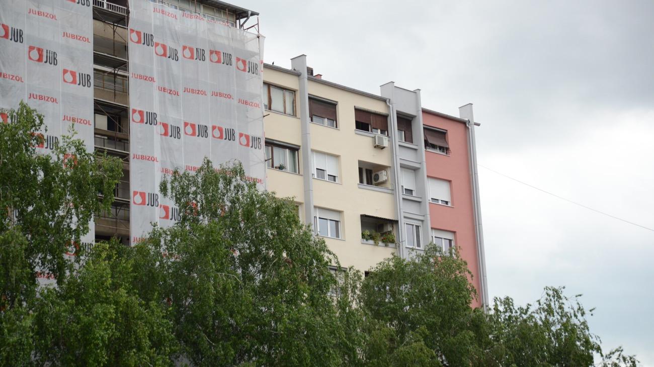 Photo of Grad nastavlja finansiranje renoviranja fasada zgrada. I lepši grad i značajna ušteda energije