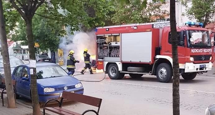 Photo of Izgoreo automobil u centru grada (VIDEO)
