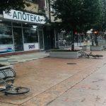 Nepoznati izgrednici iskalili svoj bes ba parkiranim biciklima u najstrožem centru grada