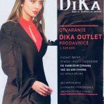 Evropska robna marka DiKa u Pirotu. Otvaranje prodavnice 1. juna