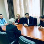 Ambasador SAD posetio Pirot, razgovarao sa gradonačelnikom Vasićem