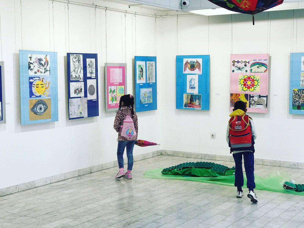 Photo of Dečji likovni salon – izložba otvorena do 5. juna
