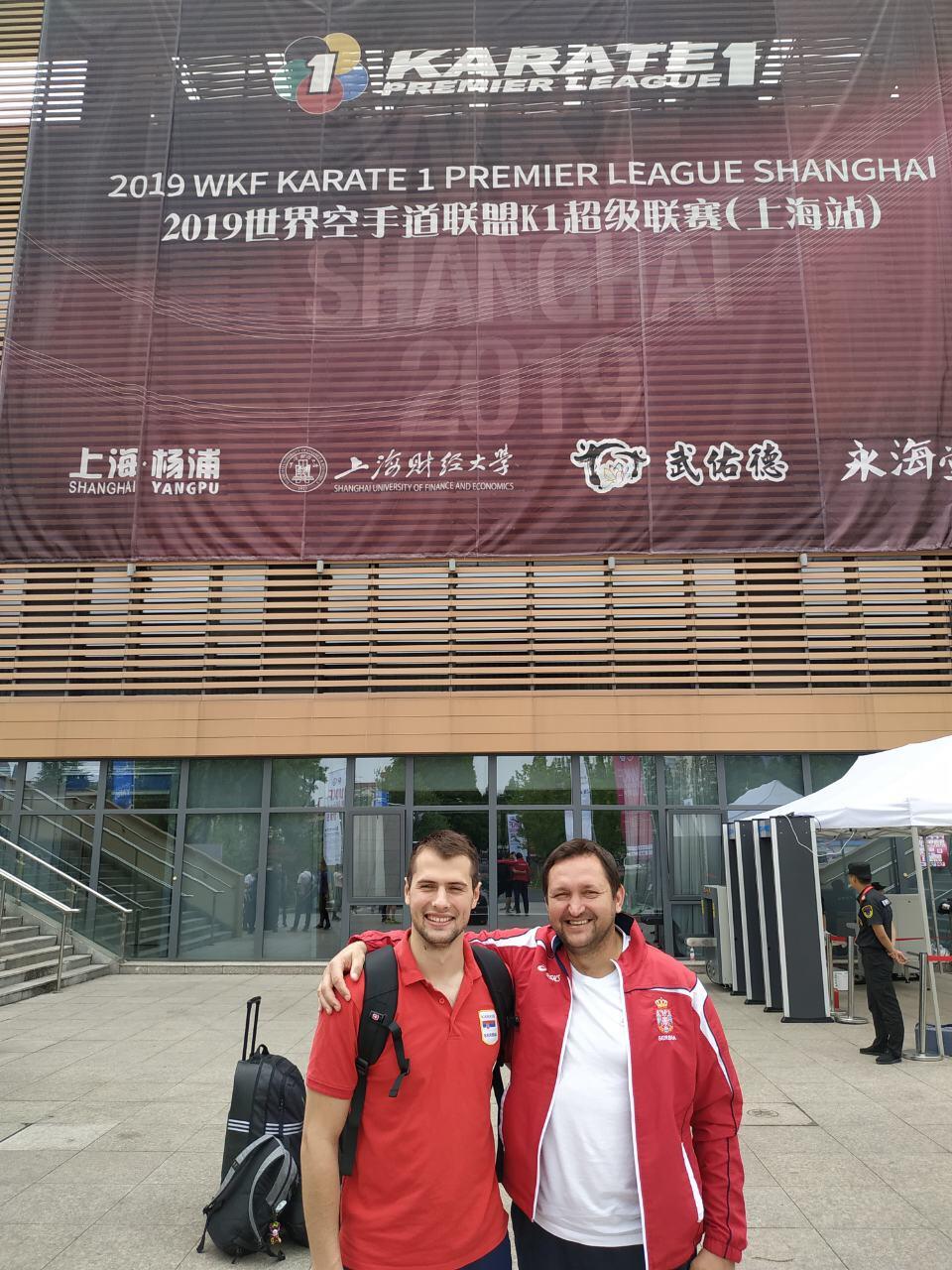Photo of Uroš na turniru Premijer lige u Šangaju
