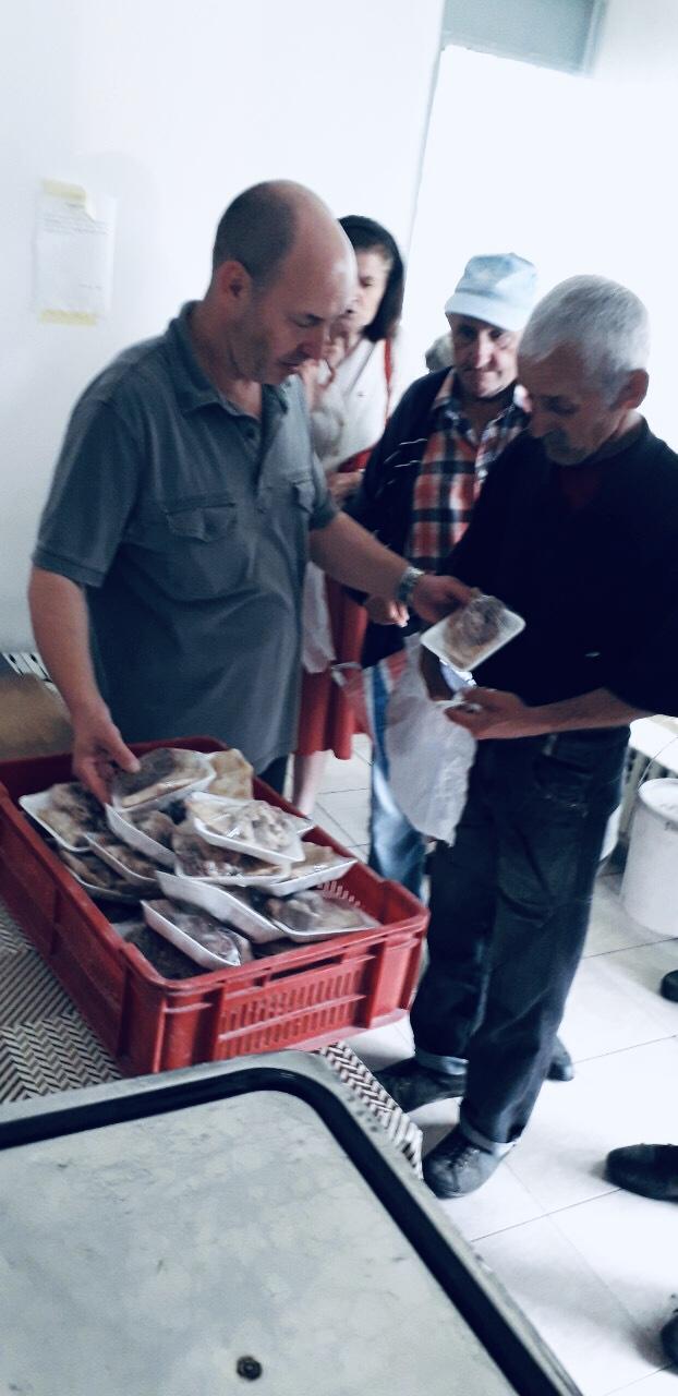 Photo of Donirali hranu korisnicima narodne kuhinje