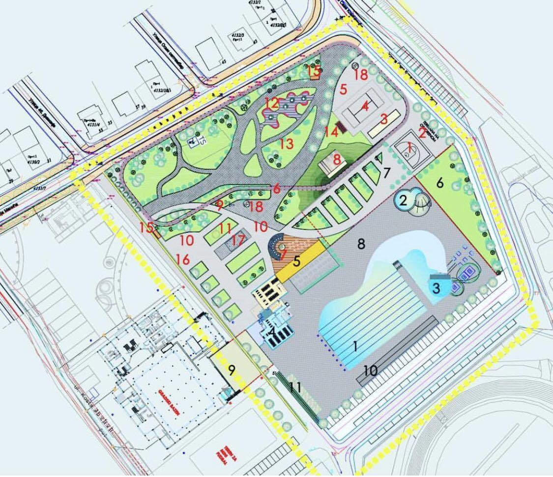 Photo of Projekat za Otvoreni bazen gotov do kraja godine. Pirot će dobiti jedan od najvećih sportsko-rekreativnih kompleksa u zemlji