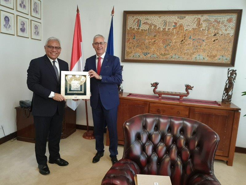 Photo of Sastanak u ambasadi Indonezije