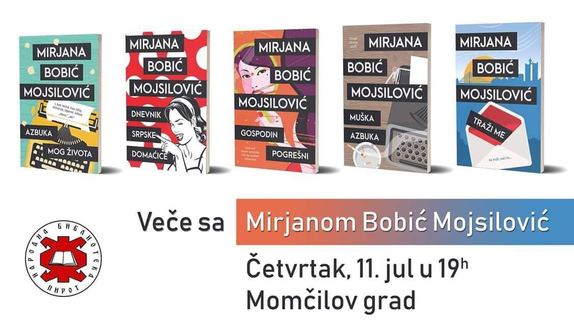 Photo of Mirjana Bobić Mojsilović sutra u Pirotu