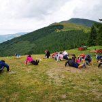 Karatisti i atletičari na pripremama na Babinom zubu na Staroj planini