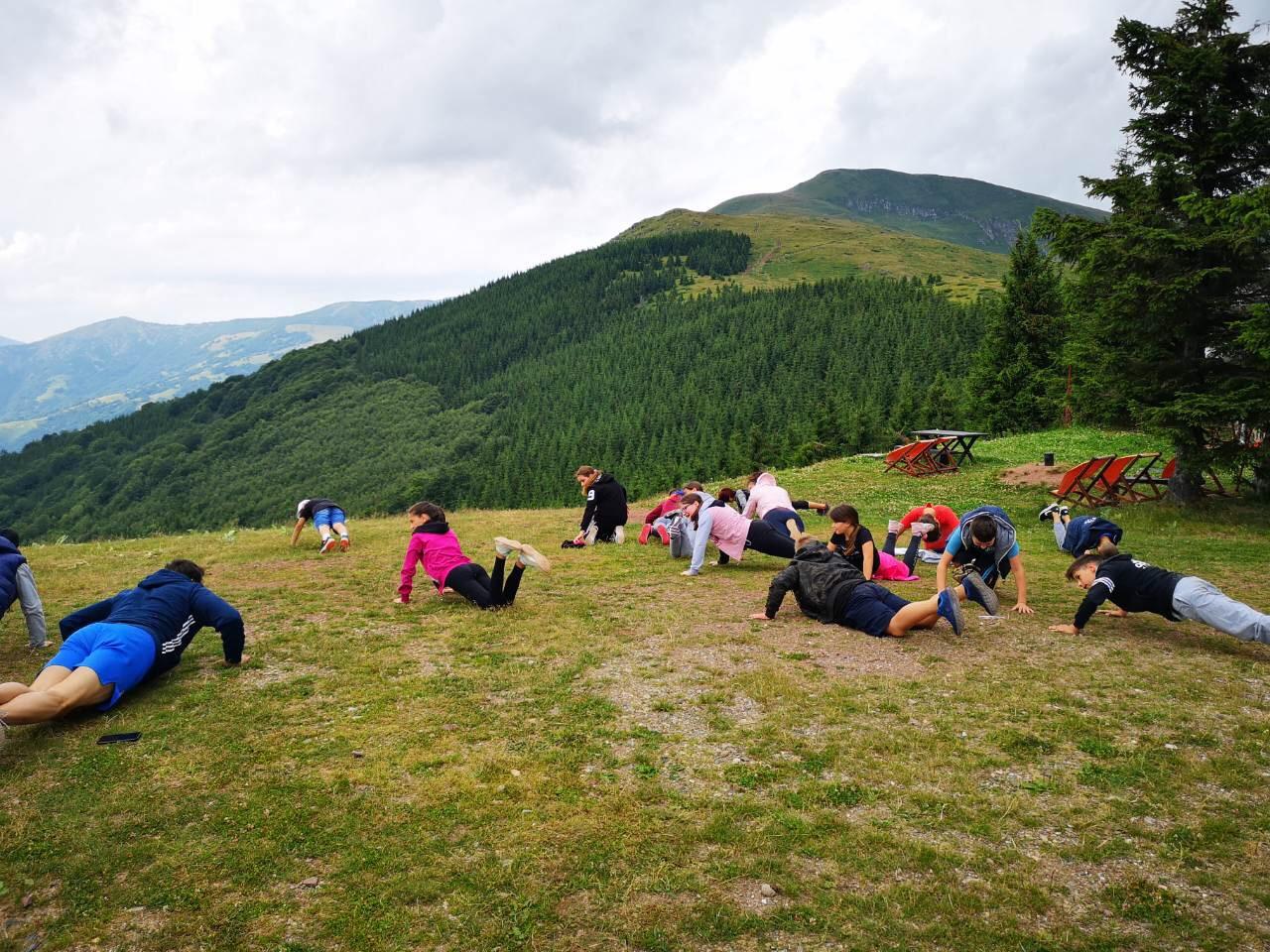 Photo of Karatisti i atletičari na pripremama na Babinom zubu na Staroj planini