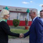 Mihajlovićeva posetila Slobodnu zonu Pirot: Velike mogućnosti za razvoj vodnog i intermodalnog transporta