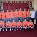 Reprezentacija Srbije na pripremama u Pirotu