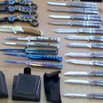 Čitav arsenal noževa pronađen kod putnika autobusa