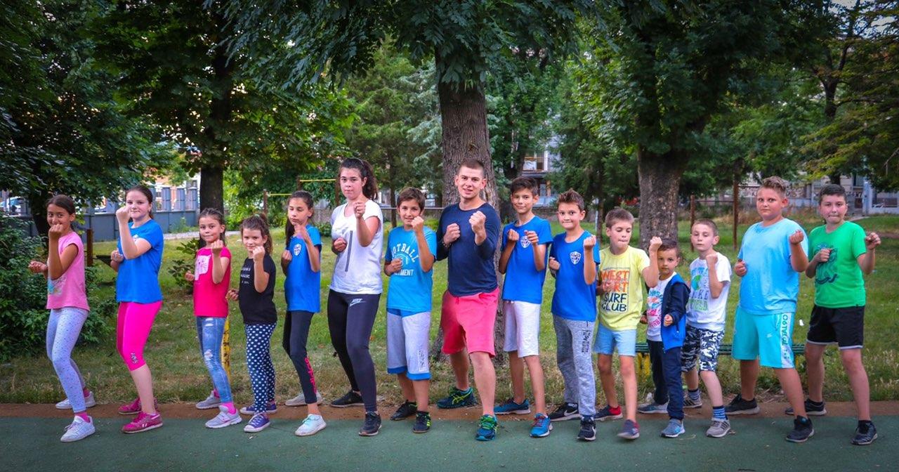 Photo of Besplatna letnja škola karatea radiće do kraja jula